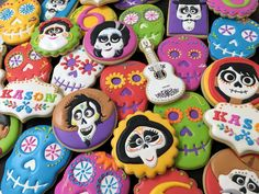 Coco cookie Day of the Dead