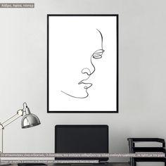 Eyes and figure VII, αφίσα, κάδρο Line Art, Poster, Home Decor, Decoration Home, Room Decor, Line Drawings, Home Interior Design, Billboard, Home Decoration