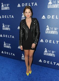 Ashley Benson - Arrivals at Delta Air Lines Grammy Party