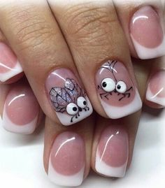 Best Cute Nails Inspiration Arts for Prom (Coffin Nails, Matte Nails) - Diaror Diary - Page 47 ♥ 𝕴𝖋 𝖀 𝕷𝖎𝖐𝖊, 𝕱𝖔𝖑𝖑𝖔𝖜 𝖀𝖘!♥ ♥ ღ Hope you like this gorgeous prom and weekend party nails design collection! ღ 𝖌𝖔𝖗𝖌𝖊𝖔𝖚𝖘 𝖕𝖗𝖔𝖒 𝖆𝖓𝖉 Trendy Nail Art, New Nail Art, Easy Nail Art, Halloween Nail Designs, Halloween Nail Art, Easy Halloween, Halloween Spider, Party Nail Design, Nails Design