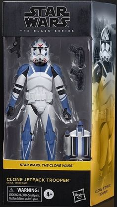 Star Wars Toys, Custom Action Figures, Star Wars Collection, Clone Trooper, Black Series, Clone Wars, Concept, Stars, Fictional Characters