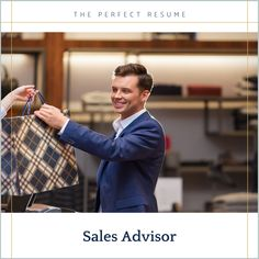 Do you want to apply for a Sales Advisor position to help you get closer to your career goals? Applying for jobs on Seek, LinkedIn, and other job boards can be a time-consuming process, however, to streamline the process, you can ensure your resume writing helps you to stand out from the crowd, and your online profile helps you to get an interview! Resume Writing Tips, Writing Help, Perfect Resume, Online Profile, Career Goals, Interview, How To Apply, Positivity, Optimism