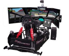 SimXperience Stage 5 Motion Racing Simulator is created by a group of professional software, hardware and electronics engineers who have made this advanced immersive racing simulator that is customizable according to your needs. Flight Simulator Cockpit, Microsoft Flight Simulator, Racing Simulator, Best Airplane Games, Arcade, Watercooling Pc, Gadgets, Computer Workstation, Custom Pc