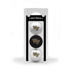 Team Golf Wake Forest Demon Deacons Golf Balls 3 Pack