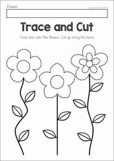 math worksheet : trace the pattern bug trail  fine motor skills motor skills and  : Fine Motor Worksheets For Kindergarten