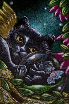 Fantasy Fairies | FANTASY FAIRY KITTEN CATS - by Cyra R. Cancel from