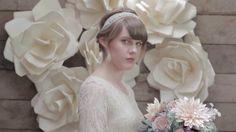 #wedding #weddingdecor #paperflowers #jumboflowers #DIYWedding #Spoonflower www.LiaGriffith.com