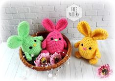 We continue to produce healthy toys and share what we produce with Amigurumi recipes.You can find Amigurumi knitting models on our website. Bunny Crochet, Easter Crochet Patterns, Crochet Food, Crochet Teddy, Crochet Baby, Amigurumi Doll Pattern, Diy Ostern, Sock Bunny, Easter Crafts For Kids