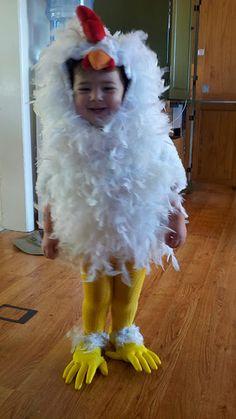 cutest chicken costume ever!