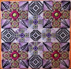 Free Project from Orna Willis - Nuts about Needlepoint