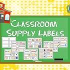 Classroom Supply Labels for Primary Teachers with Picture Clues (FREE) ~ Here is a set of 42 classroom supply labels with picture clues for primary teachers plus 6 blank labels. Just print and laminate.  I hope you hav...