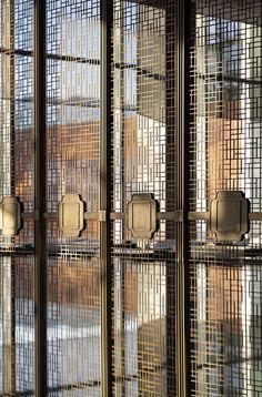 Tianshui Jialangyuan Sales Center - Picture gallery Door Design, Wall Design, House Design, Screen Design, Design Design, Interior Design Photos, Office Interior Design, Steel Curtain, Best Office