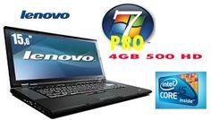 """""""FANTASTICO"""" Lenovo ThinkPad T510 2530 MHZ 4 GB 500HD WIFI E WEBCAM CON GARANZIA 180 GIORNI"""