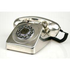 TELEFONO VINTAGE PLATA #telefono #vintage #plata #antiguo #tienda #comprar