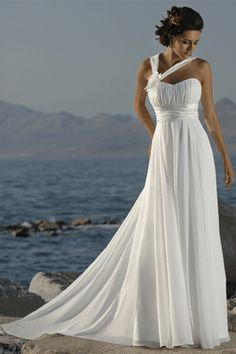 wedding dress for the beach #wedding #dress