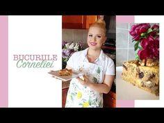 Prajiturile Corneliei: Prajitura de post cu mar si morcov, o #reteta explicata pas cu pas - YouTube Romanian Desserts, Healthy Tips, Cereal, Sweets, Baking, Breakfast, Apples, Videos, Food