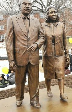 Dr. Martin Luther King, Jr and Coretta Scott King in  Philadelphia, PA By: Cliff Eubanks