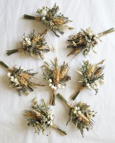 A sweet boutonniere of wheat, lavender, oregano, and assorted dried blooms. This listing is for ONE boutonniere. Two bout pins included. We recommend placing orders in advance by including your event date in the notes at checkout. Floral Wedding, Fall Wedding, Wedding Colors, Wedding Bouquets, Rustic Wedding, Wedding Flowers, French Wedding, Elegant Wedding, Wedding Dress
