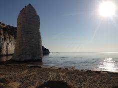 Di mattino..... beach!!!! #Vieste #Gargano #Puglia