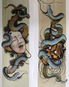 Oriental Tattoo Snake Black And Gray Tattoos Oriental Tattoo Snake Black And Gra. - Oriental Tattoo Snake Black And Gray Tattoos Oriental Tattoo Snake Black And Gray Tattoos Jermaine - Japanese Snake Tattoo, Japanese Tattoo Designs, Japanese Sleeve Tattoos, Sanskrit Tattoo, Tattoo Snake, Tattoo Arm, Tattoo Costillas, Snake Art, Traditional Japanese Tattoos