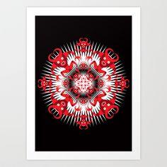 WARP!_R Art Print by HOOKEEAK - $18.00