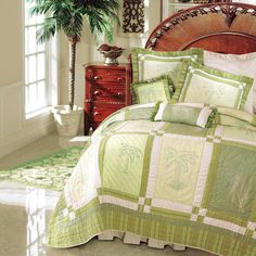Kimiko Hawaiian Tropical Bedding by C & F Bedding