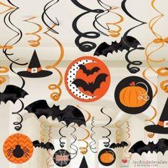 Kit de decoración colgante para fiesta de Halloween. #halloween