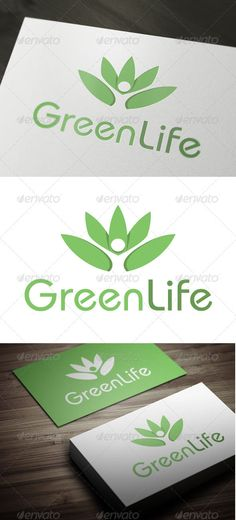 Green Life - Logo Design Template Vector #logotype Download it here: http://graphicriver.net/item/green-life/3296322?s_rank=183?ref=nexion