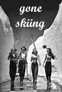 Vintage Ski Posters at Vintage Snow. A great selection of skiing posters for any skier on your list. Check out our exclusive vintage ski posters and prints. Many one-of-a-kind! Originals and reproduction vintage ski posters. Ski Vintage, Party Vintage, Vintage Ski Posters, Vintage Girls, Posters Uk, Logo Vintage, Vintage Winter, Vintage Black, Apres Ski Party