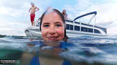 Teaching Kids to Swim Teach Kids To Swim, Lakeside Living, Boat Safety, Boat Stuff, Pontoon Boat, Teaching Kids, Cruise, Swimming, Blog
