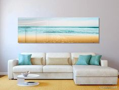 This Turquoise Beach Ocean Panoramic Modern Contemporary HD Metal Wall Art is just one of the custom, handmade pieces you'll find in our art & collectibles shops. Contemporary Bedroom Decor, Contemporary Interior Design, Modern Wall Art, Modern Decor, Modern Contemporary, Abstract Metal Wall Art, Abstract Canvas, Florida, Wall Art Decor