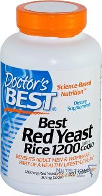 Best Red Yeast Rice 1200 with Coq10 180 Tabs by Doctor's Best. $31.58. Best Red Yeast Rice 1200 with CoQ10 from Doctor's Best combines two of the most popular nutritional supplement ingredients into one formula. Get the benefits of both coenzyme Q10 and red yeast rice with this simple two-in-one dietary supplement when you combine it with a healthy diet and exercise plan.