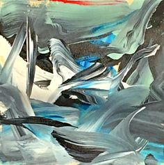 Storm Front, acrylic on board by Joel Masewich Contemporary Decor, Modern Art, Headboard Art, Storm Front, Cast Glass, Canadian Artists, Rustic Chic, Winter White, Holidays And Events
