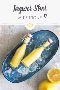 Du spürst einen Anflug von Erkältung? Dann schmeiß den Hochleistungsmixer an und zauber dir mit Ingwer, Zitrone und Honig einen wahren Immun-Booster.