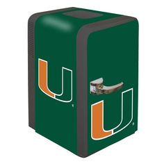Miami Hurricanes Portable Party Hot/Cold Fridge