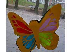 mooie vlinder lampion