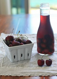 Cherry Infused Vodka