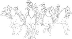 Coloriage Lego Chima, Le Ranch, Watercolor Horse, Horse Drawings, Art Plastique, Coloring Pages, Pony, Horses, Painting