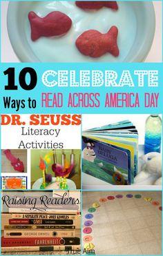 10 Activities to Celebrate Read Across America Week from True Aim Education