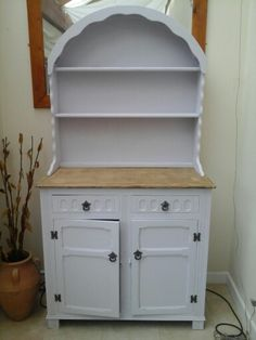 My newly finished dresser bargin! Dresser, Projects To Try, It Is Finished, Shelves, Home Decor, Powder Room, Shelving, Decoration Home, Room Decor