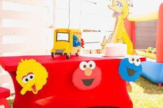 Sesame Street Birthday Party Ideas | Photo 11 of 60