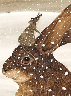 Hare with a Visitor / Art