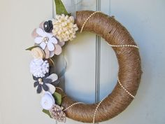 just the wreath tutorial