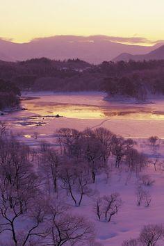 Frozen Fukushima, Japan
