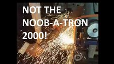 Making a knife quick and dirty with the Noob-a-tron sorry I mean Shop Master 72 Grinder from Gameco Artisan supplies and 84 Engineering. Knife Making, Blacksmithing, Belts, How To Make, Shopping, Jewelry, Blacksmith Shop, Jewels, Schmuck