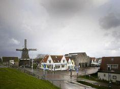 Kaap Skil in Oudeschild, Texel, designed by Mecanoo. Fotograaf Christian Richters