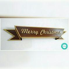 Banderín Merry Christmas