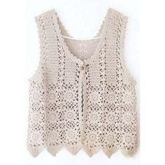 Crochet patterns: november Free crochet chart for this nice vest Gilet Crochet, Crochet Vest Pattern, Crochet Jacket, Crochet Chart, Crochet Cardigan, Crochet Motif, Crochet Stitches, Knit Crochet, Crochet Patterns