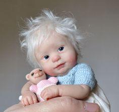 Ooak baby girl by Kim van de Wetering
