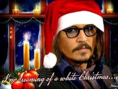 video for Johnny seeing as it's coming up to christmas so done christmas theme. Pics and music do not belng to me Johnny Movie, Here's Johnny, Kylie Minogue Albums, Johnny Depp Characters, The Hollywood Vampires, Johnny Depp Pictures, Christmas Pops, Music Do, It's Coming